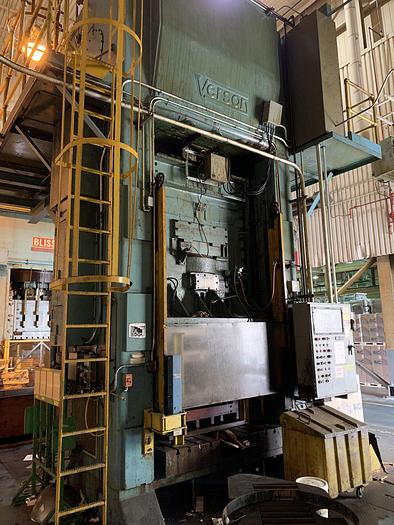 "800 ton Verson 72""x72"" Used Stamping Press"
