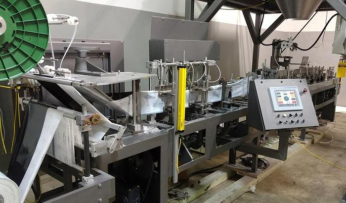 Used Bartelt IM9 poucher with zipper and gusset attachments - reconditioned