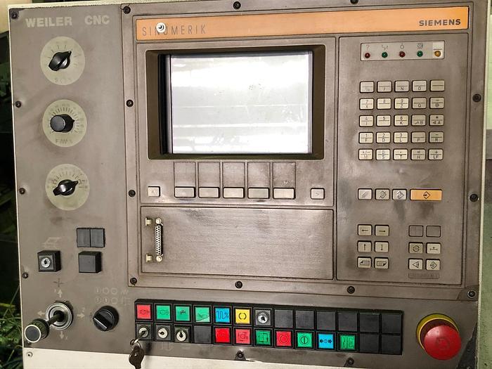 CNC Drehmaschine WEILER UD 24 CNC 1989