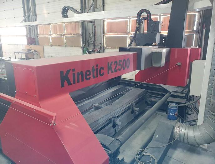 2011 Kinetic K-2500 CNC Plasma Cutter w/ Mill Drill Head