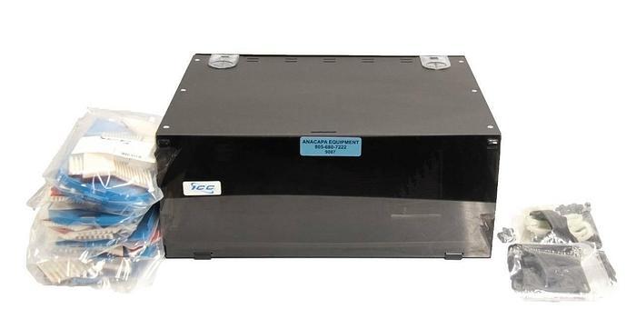 ICC ICFORS4192 Fiber Optic Rack Enclosure 192-Splice w/ ICFOSTUF24 NEW (9087)R