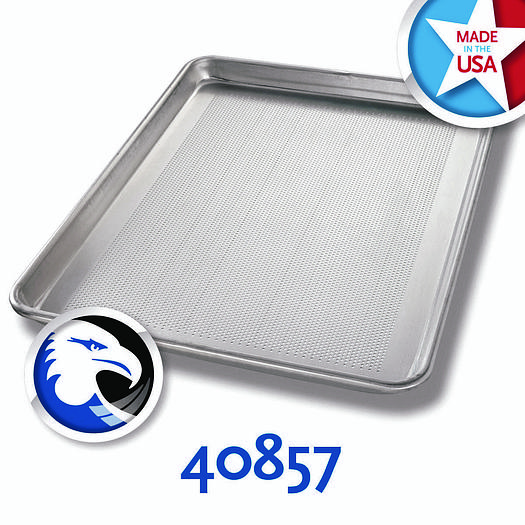 PERFORATED ALUMINUM HALF-SIZED SHEET PANS