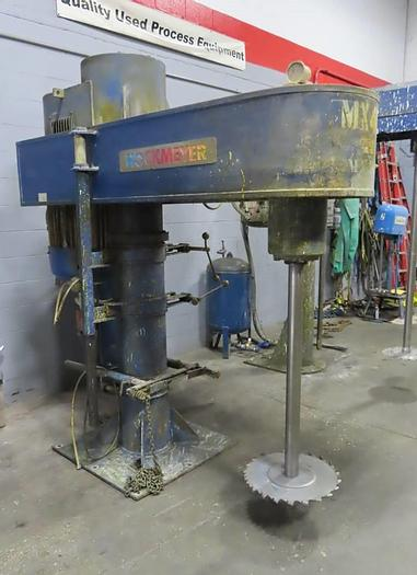 Used 60 HP HOCKMEYER HIGH SPEED DISPERSER - S/S - VARIABLE SPEED - UL LISTED
