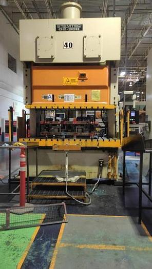 Used 300 ton Stamtec 2Pt. Gap Press