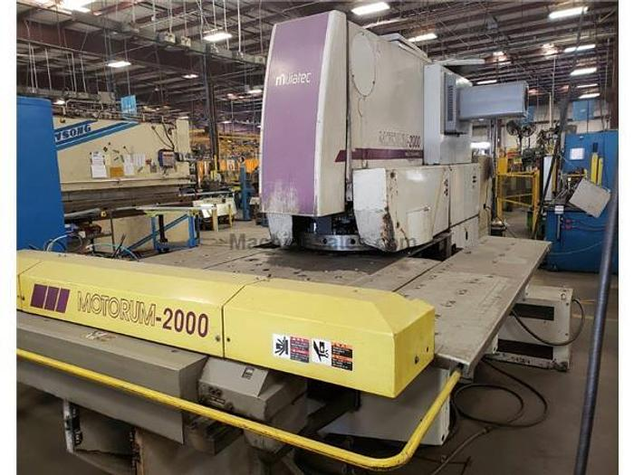 22 Ton Wiedemann Motorum 2000 CNC Turret Punch