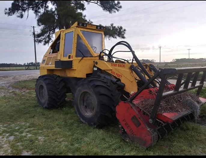 Used 2009 Geo Boy & Fecon mulching head