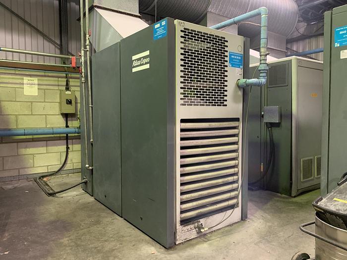 Used 2007 ATLAS COPCO GA 75VSD Variable Speed Air Compressor