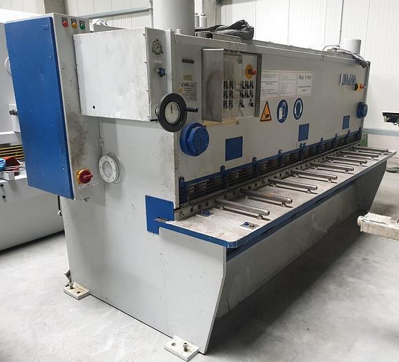 Gebraucht Hydraulische Tafelschere LVD MVS 31-8