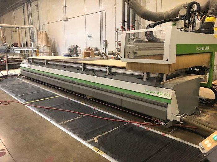 Used Biesse Rover Rover A 3.65 AT CNC Flat table
