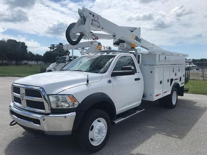 Used 2015 Dodge 4x4 D5500 Altec AT40G 45' WH Bucket truck - C05832