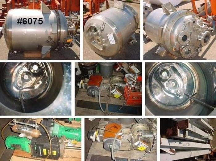 Used 80 Gal Northland 316 Stainless Reactor