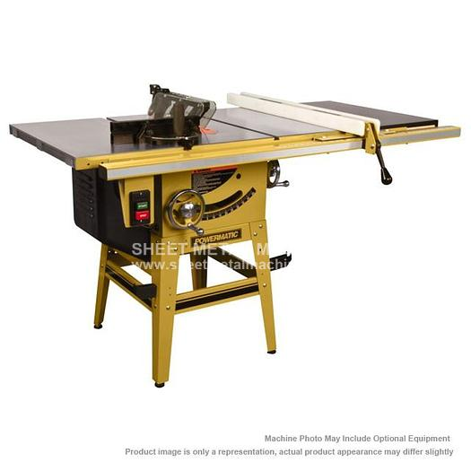 "POWERMATIC 64B Tablesaw 1.5HP 1PH 115/230V 30"" Accu-Fence System with Riving Knife 1791229K"