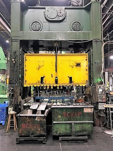 "800 ton Bliss 120""x60"" Used Stamping Press"