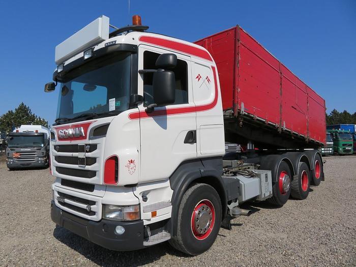 Meget god 2012 Scania R500 8X2/4 EURO 5