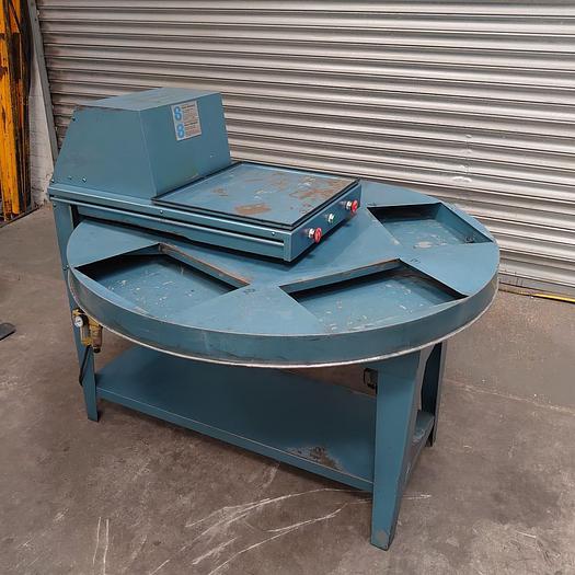 Used Sharp Interpack 5 Station Blister Sealing Machine / Blister Packer