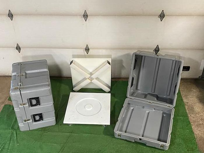 Used Grey Pelican Pallet Cases
