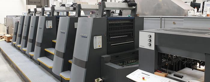 Used Heidelberg CD74-6-P3+LX-C 2005