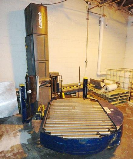 Used Lantech Stretch Wrapping System; Md# Q-Automatic