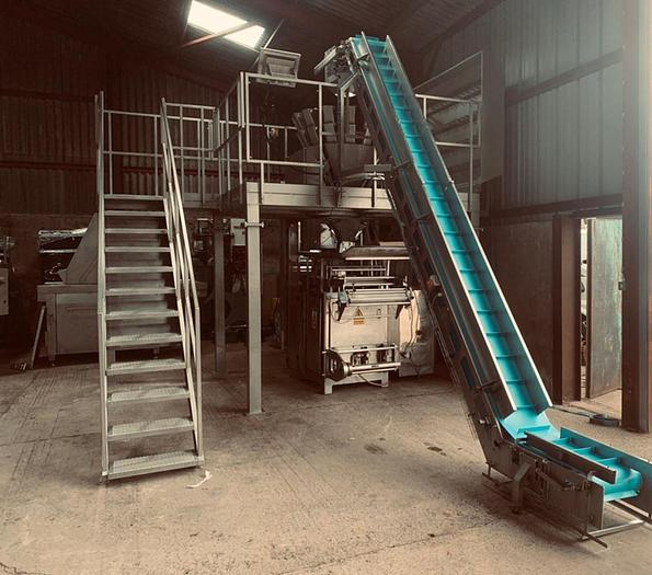 Used WEIGHING AND BAGGING SYSTEM