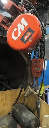 CM LADESTER 5TON MAX 5219G ELECTRIC HOIST