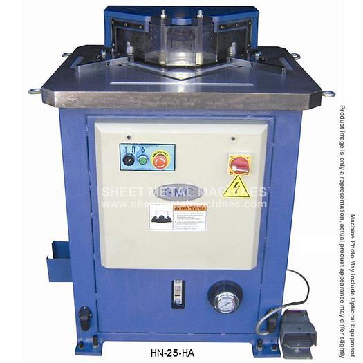 GMC Hydraulic Notcher with Fixed Angle HN-25HA