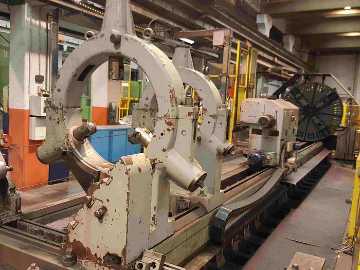 Usata TORNIO PARALLELO A TRE GUIDE SAFOP LEONARD 70-1000 CNC
