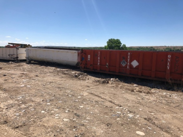HB18239 Roll off containers