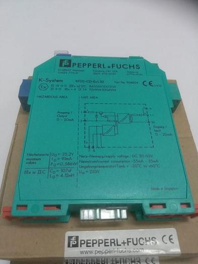 Strom-Spannungsausgangstreiber KFD2-CD-Ex1.32, Pepperl und Fuchs,  neu