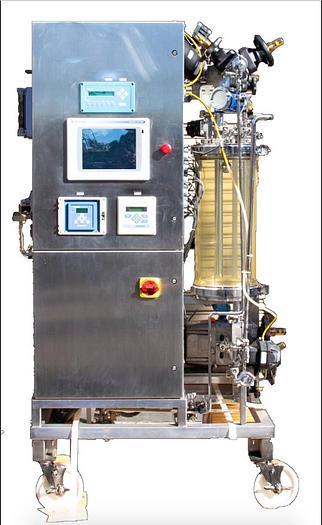 Used CEM Engineering Large Ultrafiltration Cell Harvester Bioreactor System 440V 6292