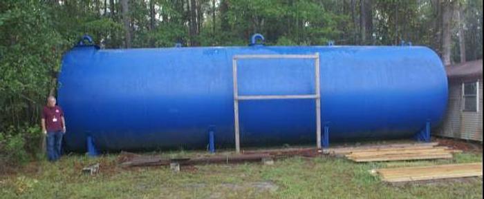 Used 25,000 Steal Tank Single wall
