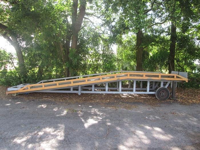 Used 30' Mobile Loading Ramp