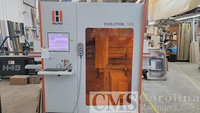 Used 2014 Holz-her Evolution 7405 Vertical CNC