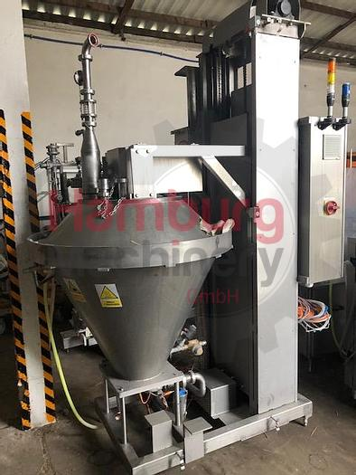Used Creaming Tank with Vacuum System