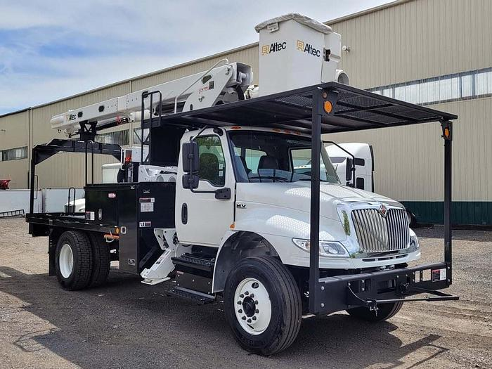 Used 2021 International 4300 Flatbed Altec LRV60-E70 75ft Bucket Truck – M85694
