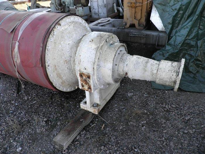 """Used SUCTION PRESS ROLL  36"""" (914MM) DIA. X 160"""" (4060MM)FACE DORRIES"""