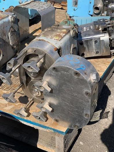 Used Waukesha Model 030 Positive Displacement Pump