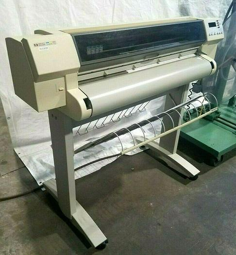Used Hewlett Packard Plotter Printer HP Design Jet 750C