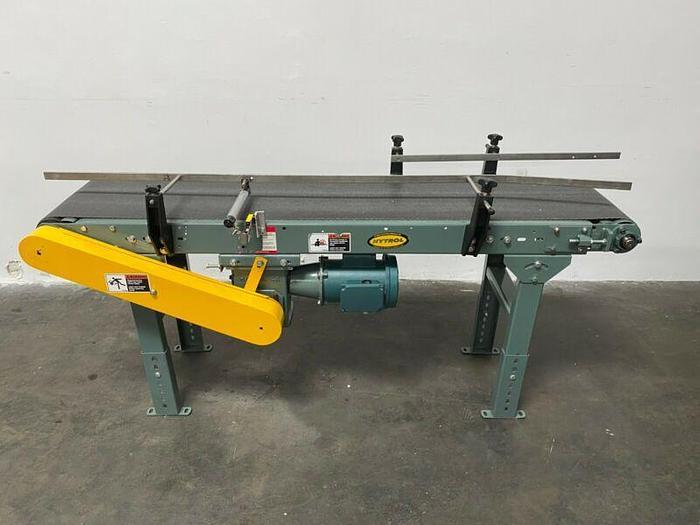 "Used Hytrol Model TA 70"" x 14"" Powered Belt Conveyor w/ 1/2 HP Motor"