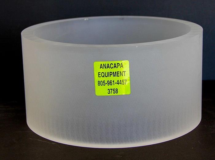 "Quartz Cylinder 12"" OD 3/4"" Thickness, Semiconductor Vacuum Deposition (3758)"