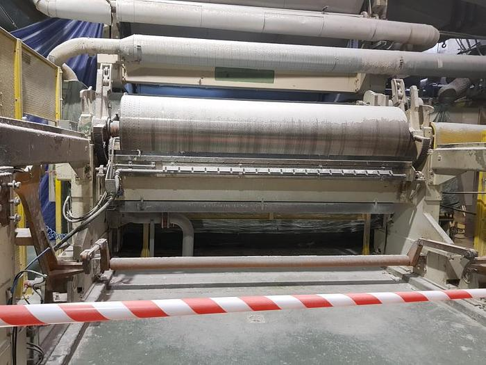 (PMT-51) - Tissue Paper Machine 3270 mm, Suction Breast Roll Former