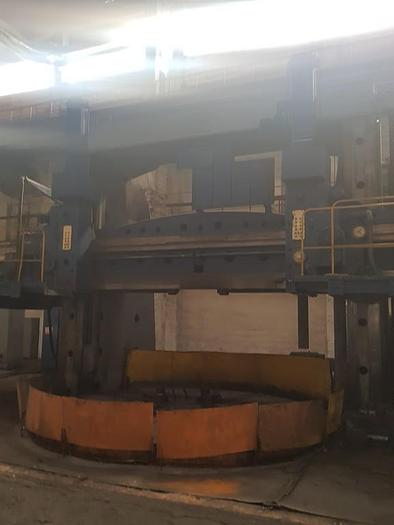 1974 Vertical Turret Lathe - Double Column TOS SK50