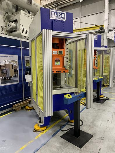 88 ton Bliss Gap Frame Mechanical Press High Speed (NEW In-Stock)