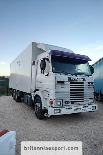 Used 1992 SCANIA R 113M 380 6X2 26 ton Cold room