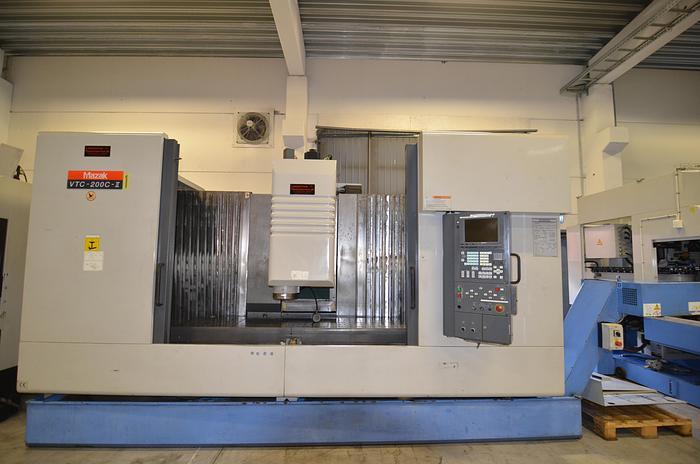 Used MV40 Mazak VTC  200 C II