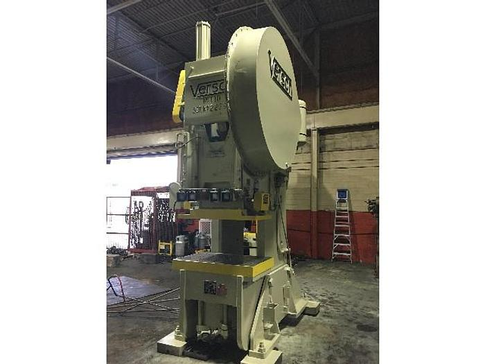 Used 110 ton Verson OBI Used Mechanical Press