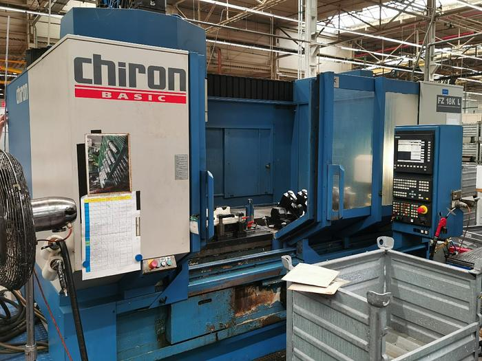 Gebraucht CNC Bearbeitungszentrum CHIRON FZ 18 K L