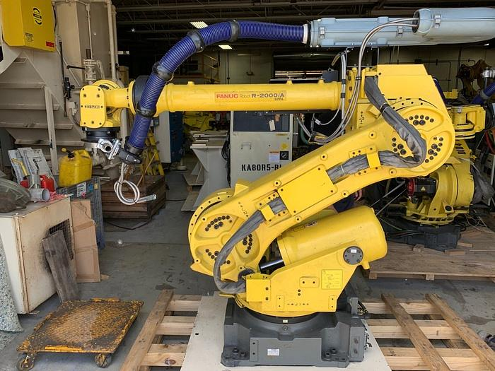 Used 2003 PREVIOUSLY REFURBISHED  FANUC   R2000iA/125L W/ DEVICENET AND BASEPLATE