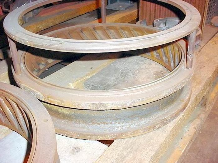 USED ALPINE MILL HAMMER MILL, CARBON STEEL, 60 HP