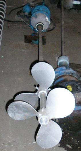 3 HP Chemineer U. L. Tank Mixer