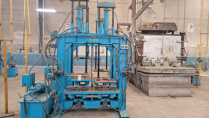 Used HYDRAULIC PRESS FOR DOUBLE CAST